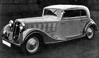1936 Hanomag sturm Kabrio