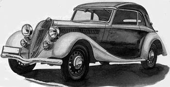 1936 Hanomag sturm roadster