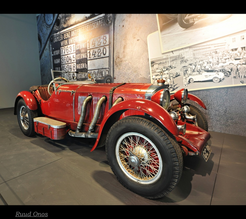 1936 Mercedes-Benz 500K Special-Roadster