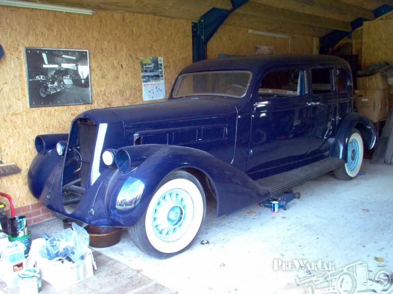 1936 Pierce-Arrow 1601 EDL