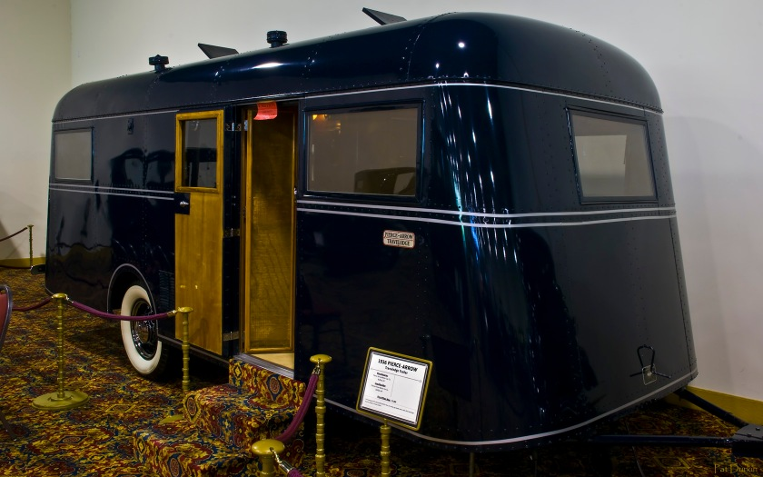 1936 Pierce-Arrow Travelodge trailer