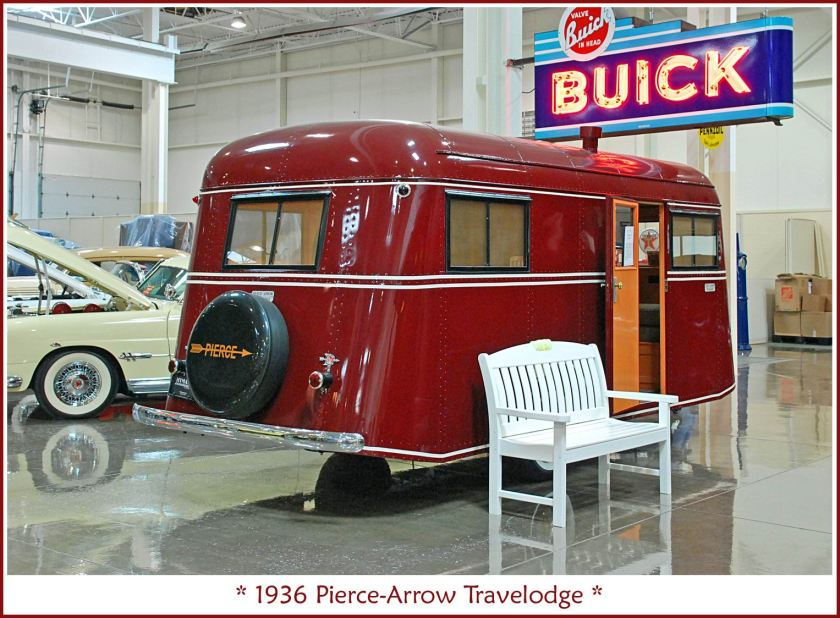 1936 Pierce-Arrow Travelodge