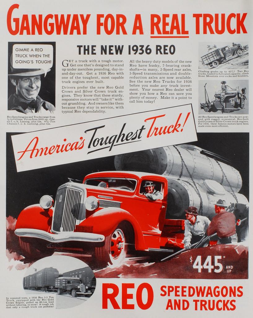 1936 REO 1