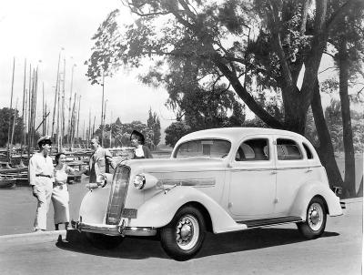 1936 Reo car