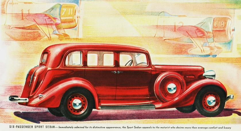 1936 Reo Flying Cloud Six-Passenger Sport