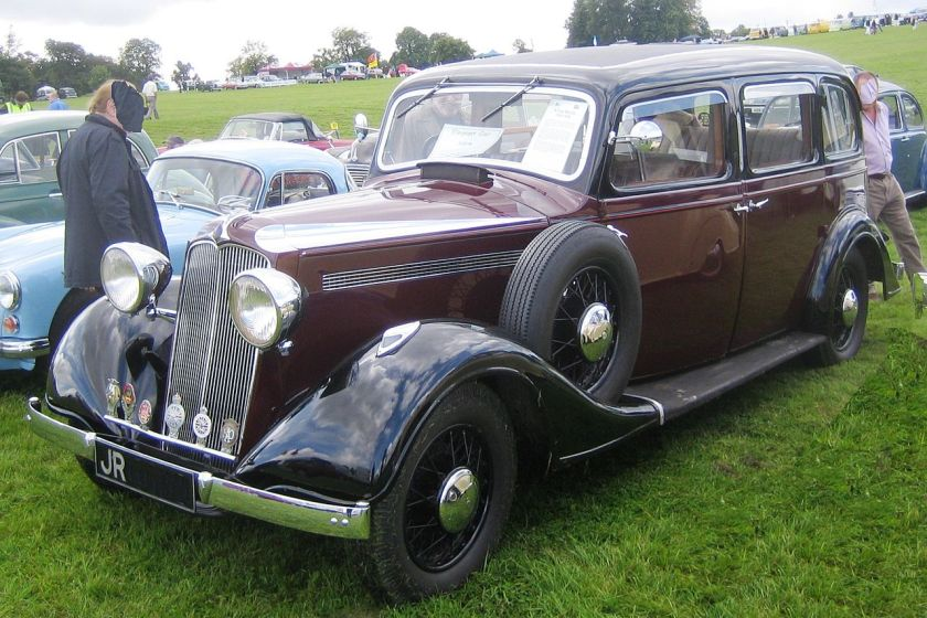 1936 Vauxhall Big 6 in Hertfordshire