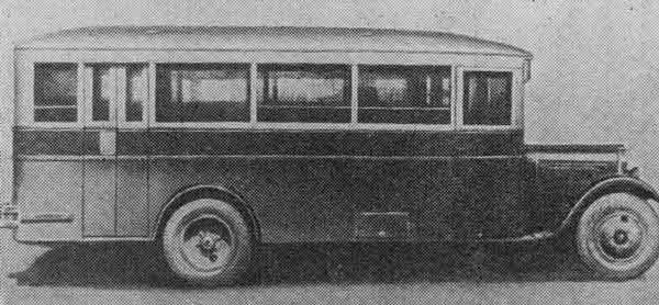 1936 ZIS 8 side bus