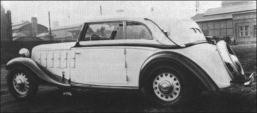 1937-38 Hanomag  sturm cabrio ambi-budd