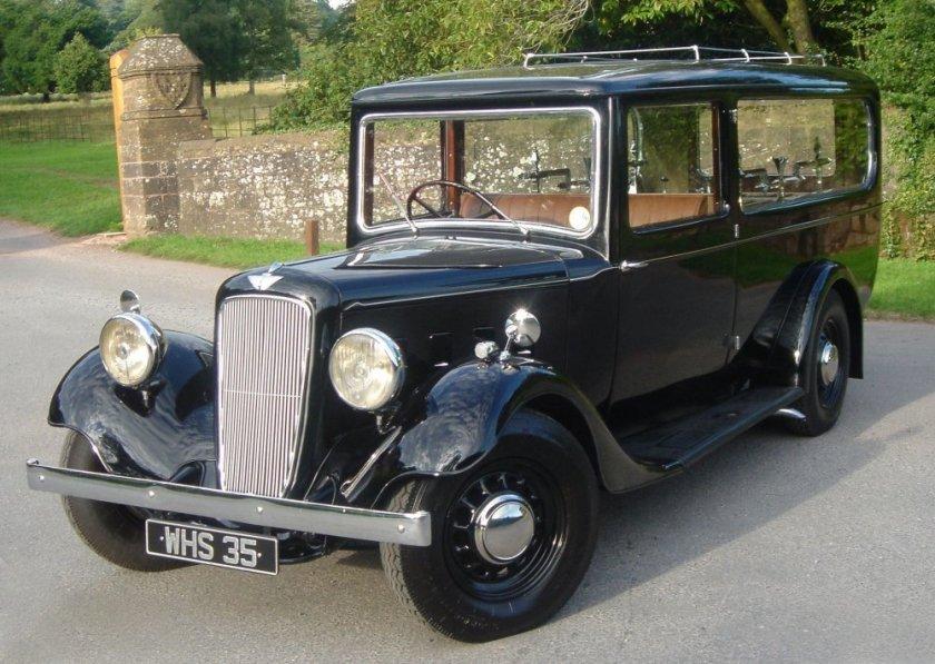 1937 Austin 18 Hearse