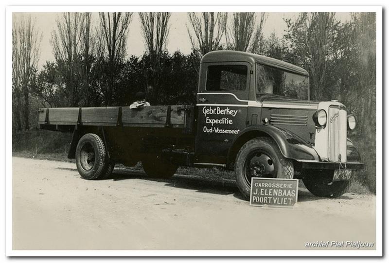 1937 Bedford Gebr Berkey Oud Vossemeer