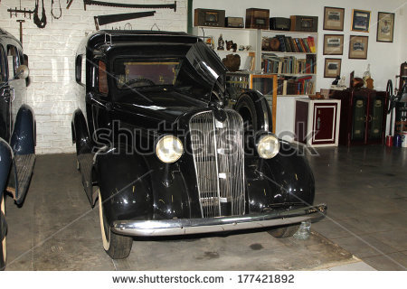 1937 Chevrolet Hearse Front