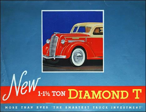 1937 Diamond T 301 ad