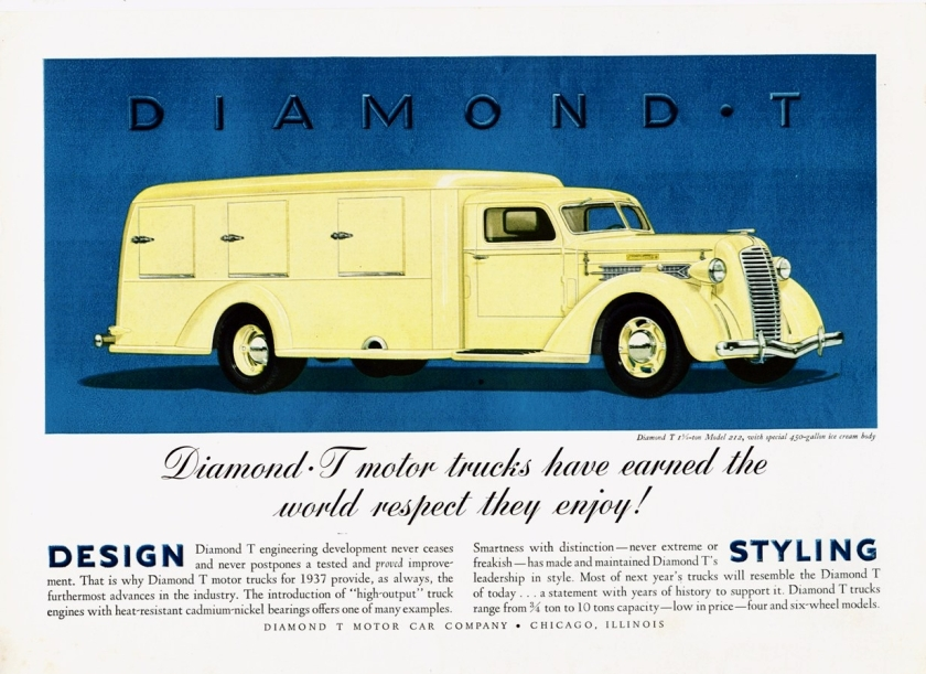 1937 Diamond T Model 212 Ice Cream Truck
