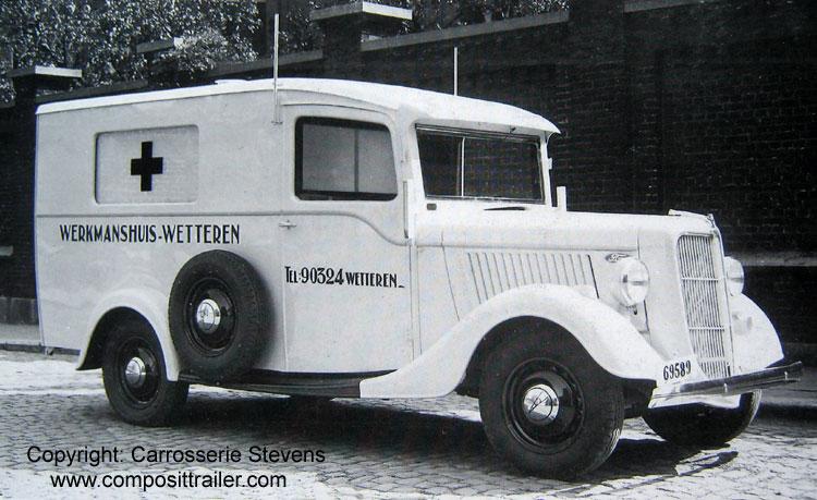 1937 Ford Stevens België