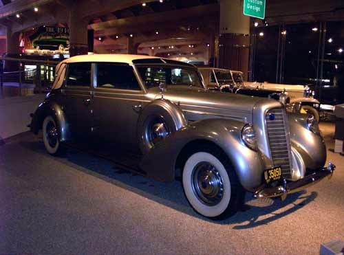 1937 Lincoln K-series Touring