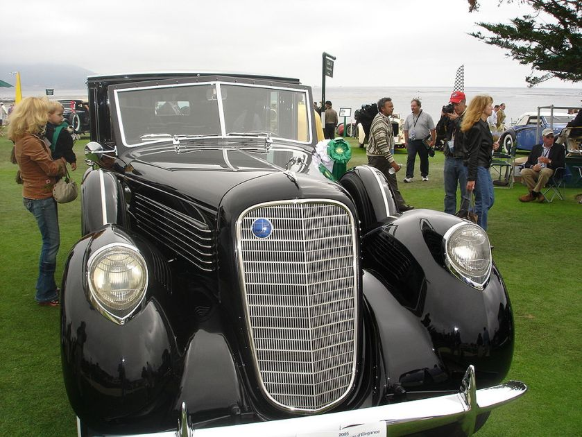 1937 Lincoln K-series towncar