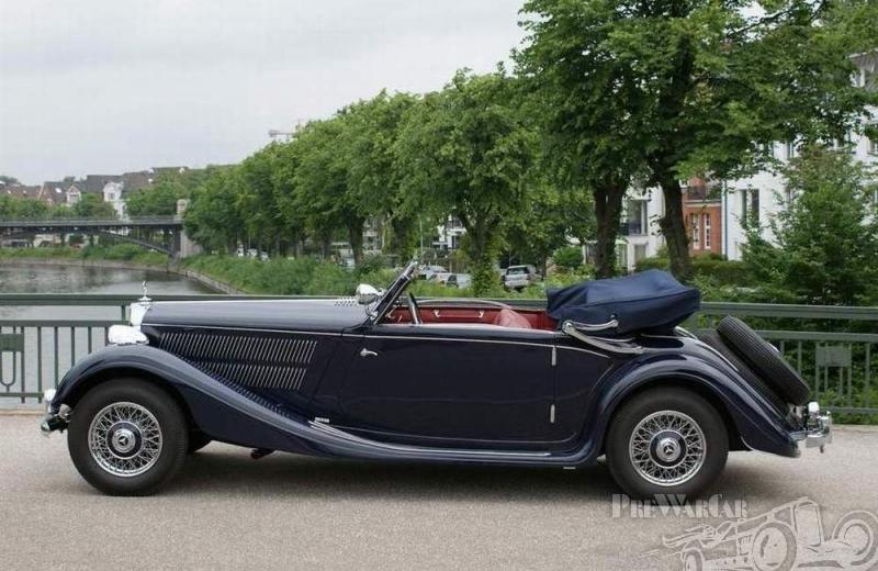 1937 Mercedes-Benz 320 Cabriolet A