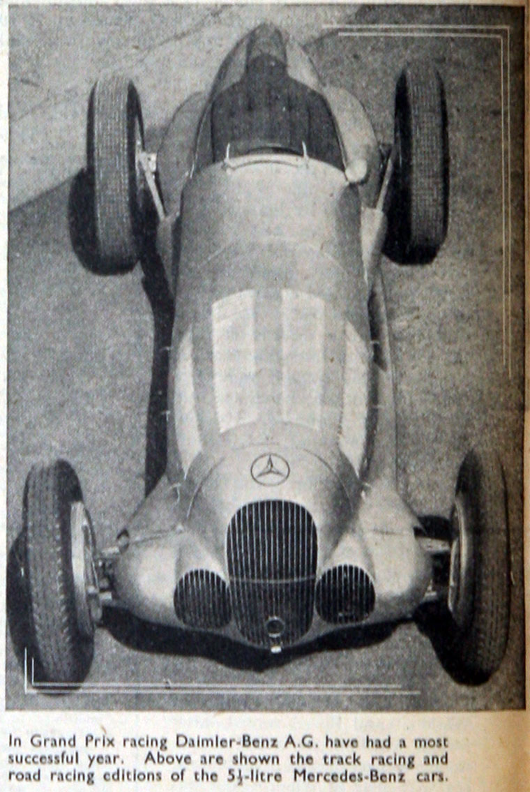 1937 Mercedes-Benz Racer
