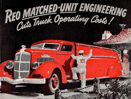 1937 REO Trucks