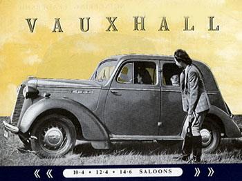 1937 Vauxhall 10-4