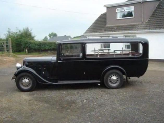 1937 Vintage Austin 18 Hearse