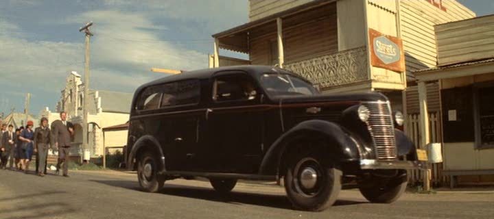 1938 Chevrolet funeral