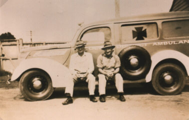 1938 Ford 1938 Ambulance at Colac Hospital Geelong