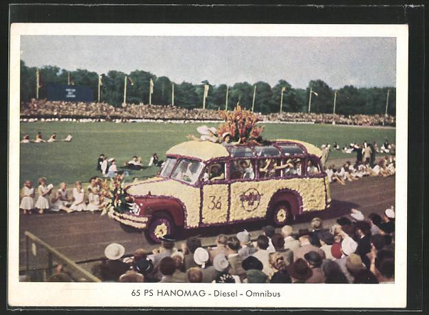 1938 Hanomag 65 PS Diesel
