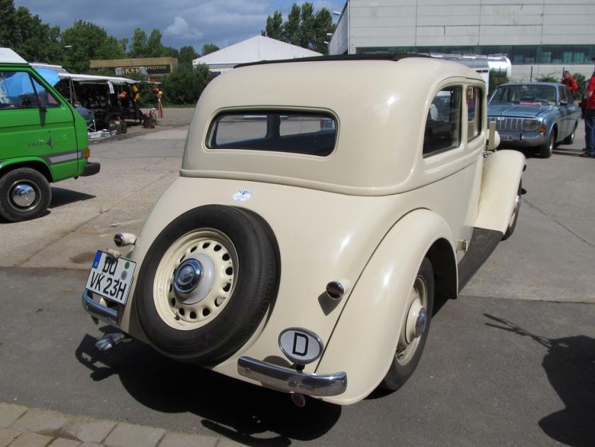 1938 Hanomag Kurier 23H