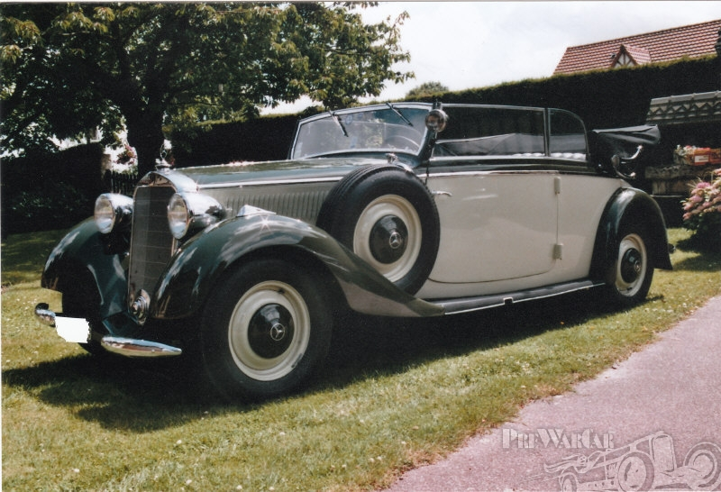 1938 Mercedes-Benz 230 B D