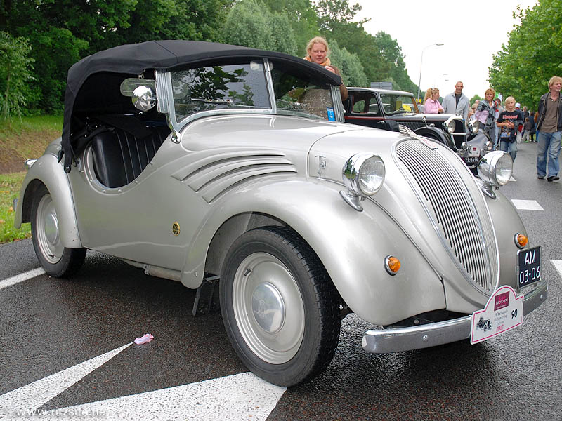 1938 NSU-Fiat 500 - Spider-Sport body by Glaser - manufactured in 1938