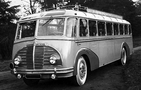 1938 Rochet Schneider Autobus Start Láutomobile Berliet (1938)