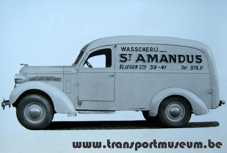 1938 Speed Delivery België