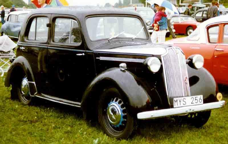 1938 Vauxhall Ten Saloon
