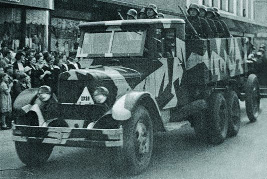 1938 ZIS-6 in Lithuanian army