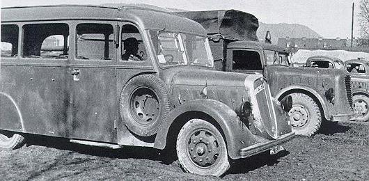 1939 ÖAF Bus 3ton