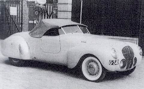 1939 Gatso Kwik. The first car, 'KWIK' (Mercury) built in the late 1930's