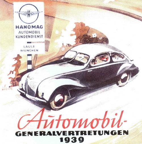 1939 Hanomag autobahn