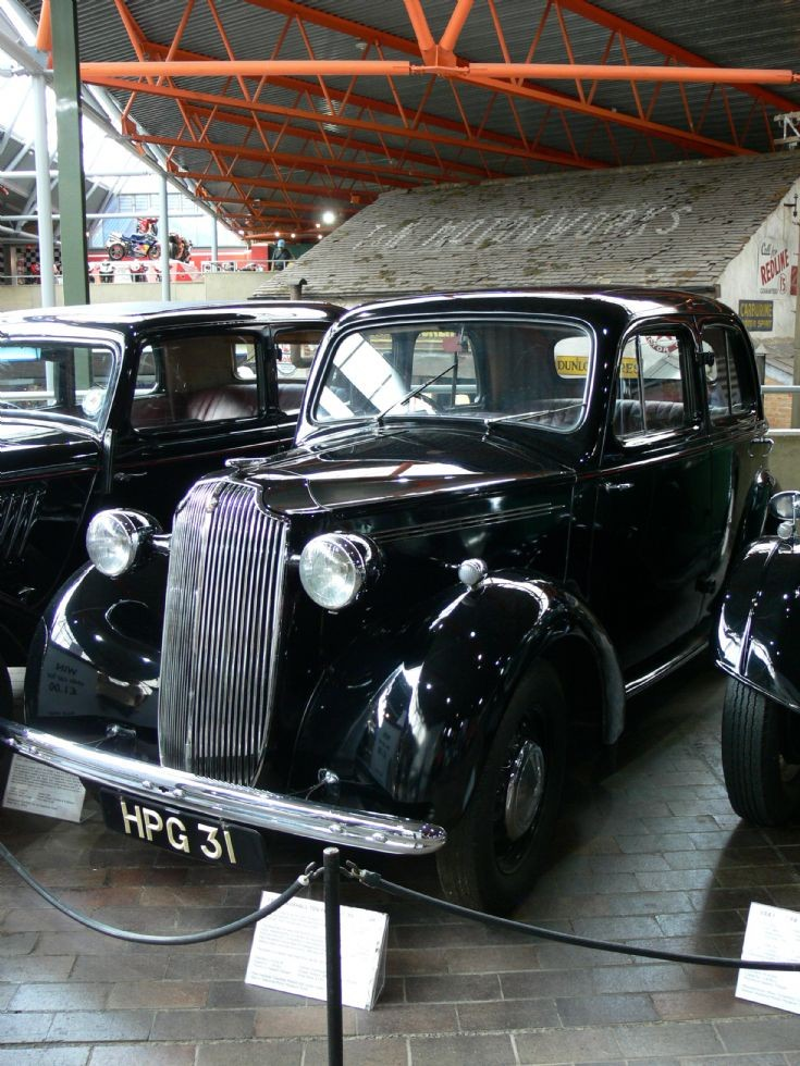 1939 Vauxhall Ten-Four H-Type