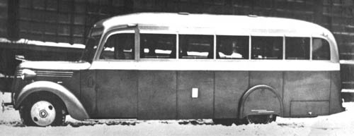 1939 ZiS-16 city bus