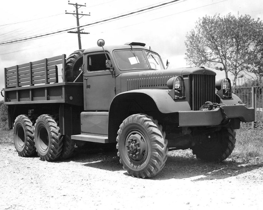 1940-45 Diamond 4-ton Truck 6x6