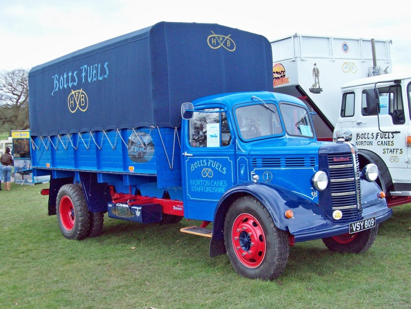 1940 Bedford OLBC 5 ton truck Beautifully preserved truck of Botts Fuels registration VSY 809