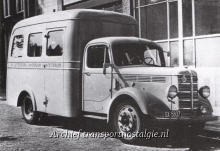 1940 Bedford tetterode