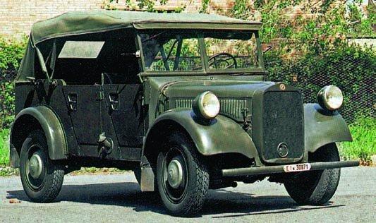 1940 Mercedes-Benz G5 (W152), 4x4