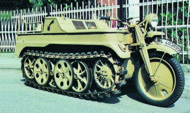 1940 NSU НК-101 (Sd.Kfz.2)