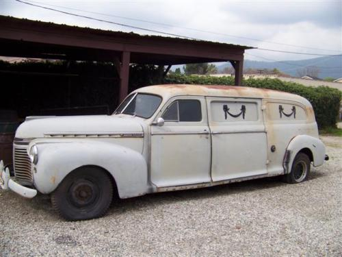 1941 Chevrolet Master Deluxe Meteor Funeral Service Car