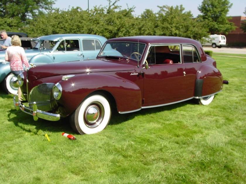 1941 Lincoln Continental V-12