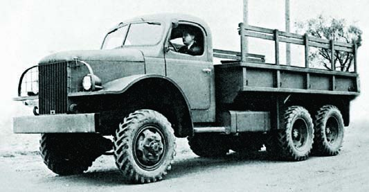 1941 REO 23BHRS, 6x6