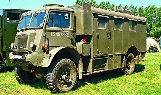 1942 Bedford QLR, 4x4