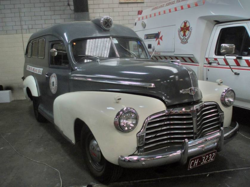 1942 Chevrolet ambulance